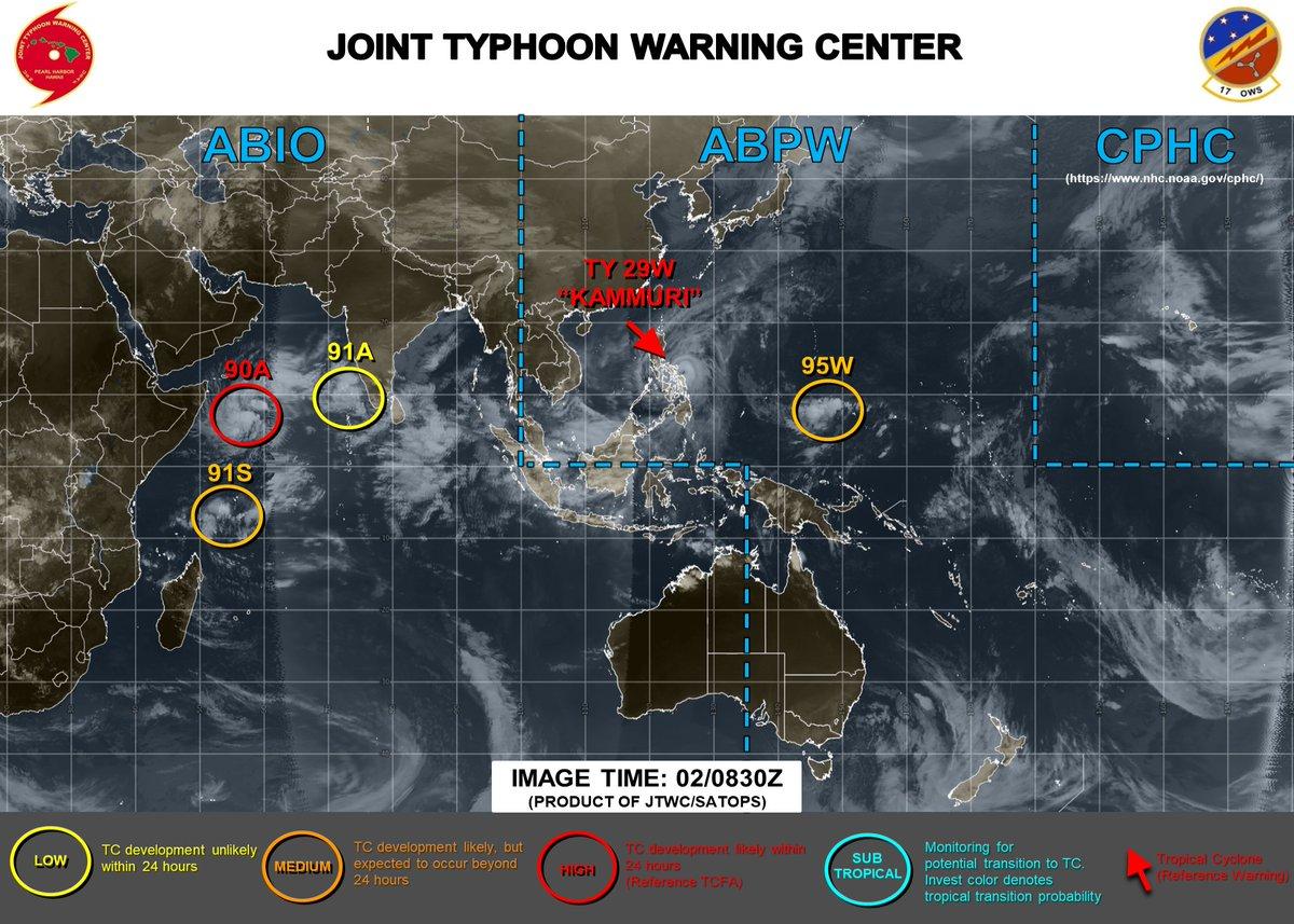 test ツイッターメディア - JTWCの95Wの画像を追加するの忘れていた https://t.co/aJrC9542Hz