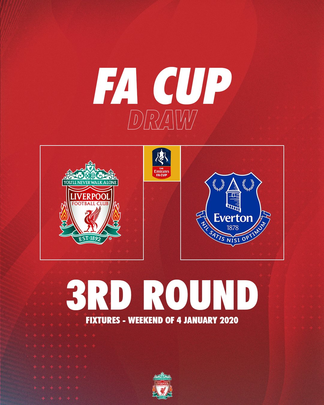 We will face @Everton in the FA Cup third round   #FACupDraw https://t.co/RpkiHATziL