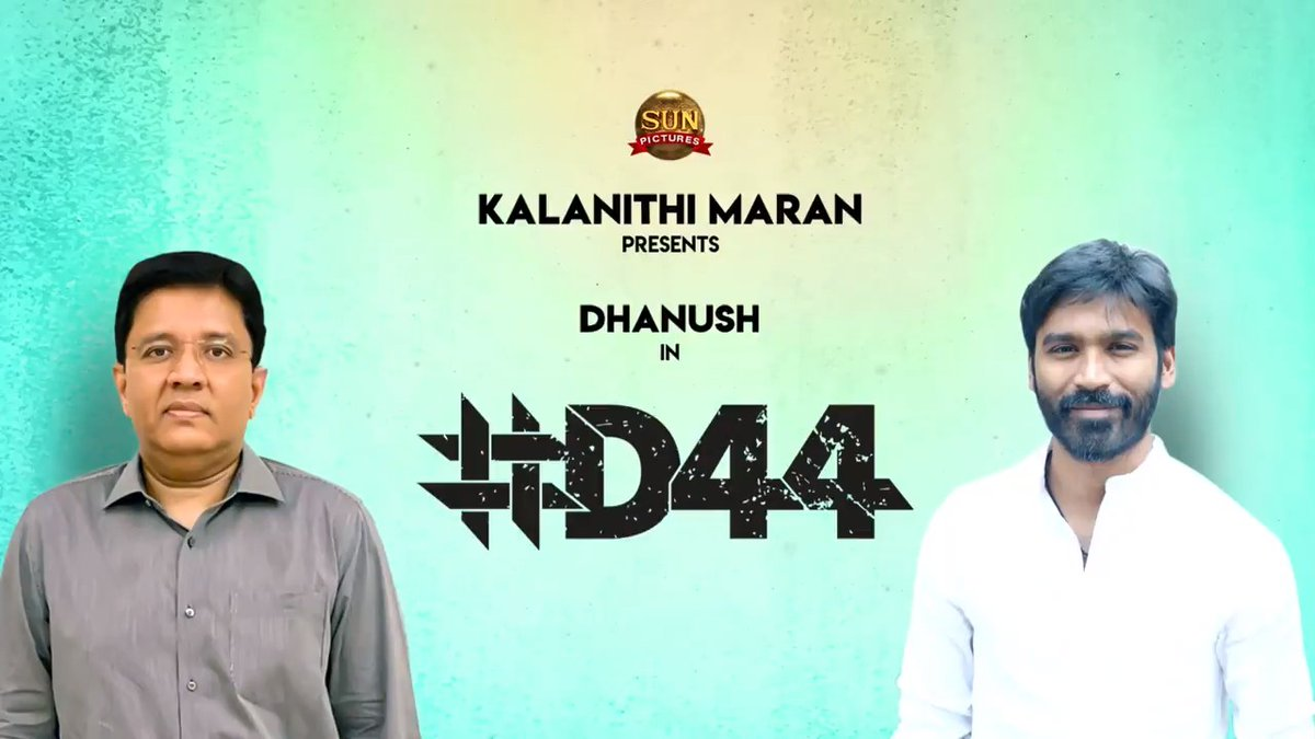 We are happy to announce @dhanushkraja's #D44BySunPictures