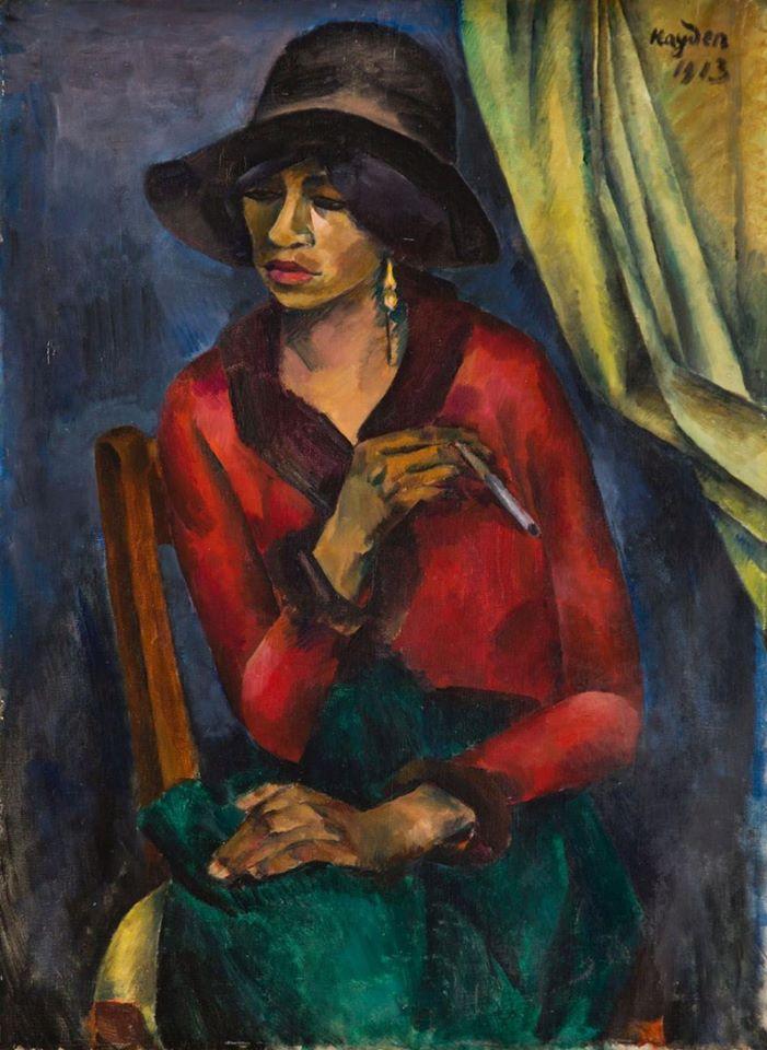 Portrait of Aicha, 1913 Henryk Hayden ( 1883 - 1970 ). https://t.co/E9ubd1GyIL