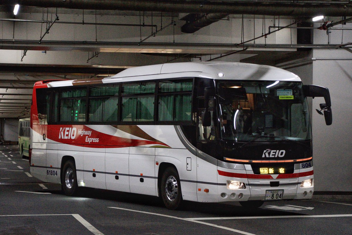 test ツイッターメディア - 夜練 その3  名鉄バス 「中央道高速バス新宿線」 2254  京王バス東 「中央高速バス名古屋線」 61804  伊予鉄バス(運行は伊予鉄南予バス) 「オレンジライナー名古屋線」 5485  ※訂正しました。 https://t.co/VJGSfODDd1