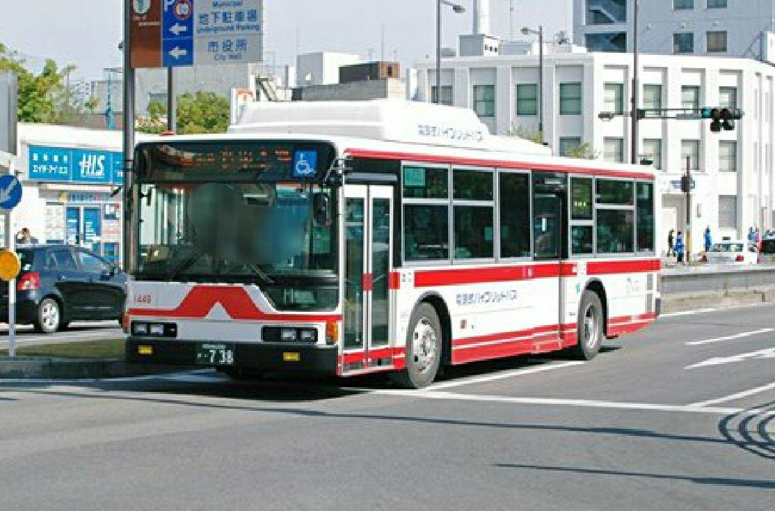 test ツイッターメディア - 懐かしのシリーズ  名鉄バス1449(一宮) KL-MP37JM改 電気式ハイブリッドバス  2007-4-15 尾張一宮駅前 https://t.co/4etZSqaE9Z