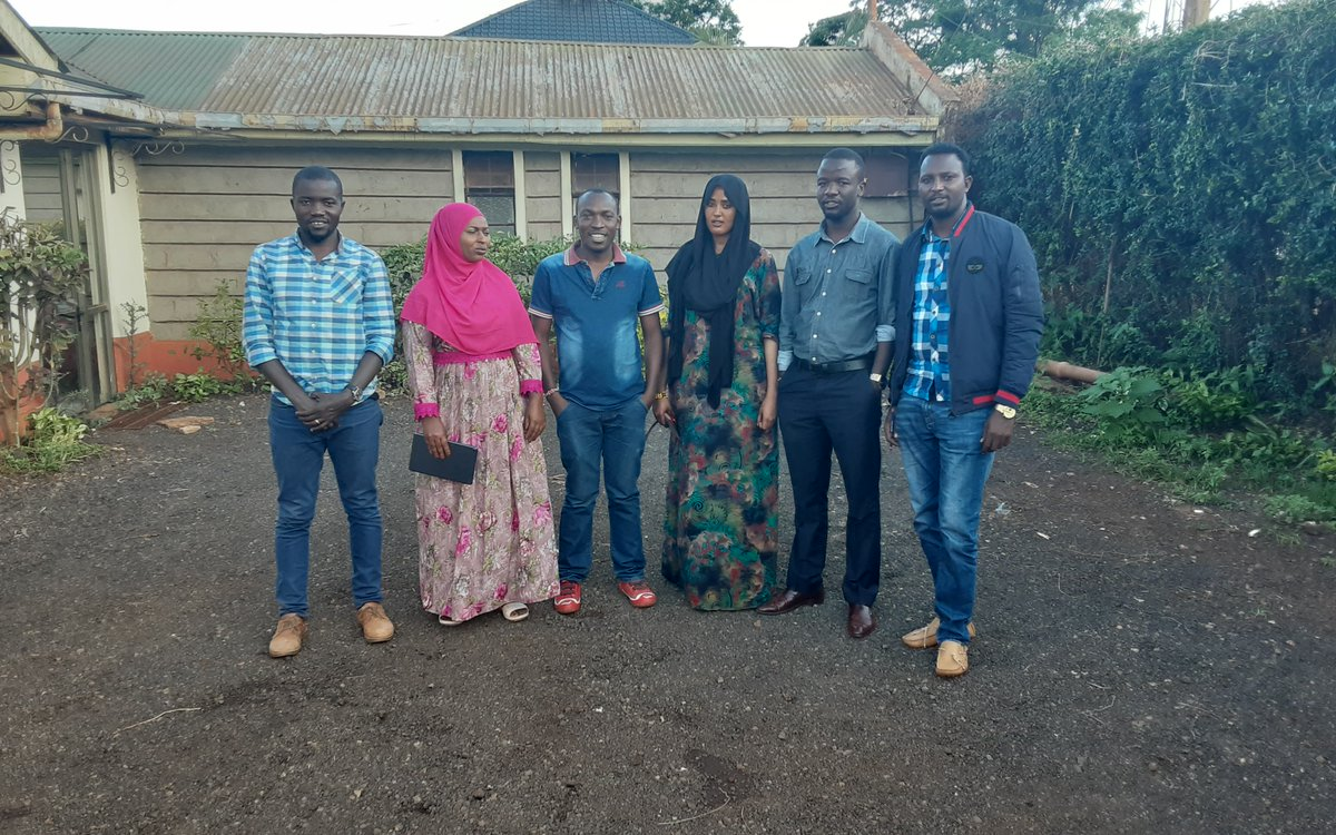 test Twitter Media - BRECcIA researchers Sospeter Wekesa & Francis Oloo @TU_Kenya have been in the field this week, talking with local communities about drivers of food insecurity and coping strategies in Marsabit county #Kenya #foodsecurity #drylands @GCRF @geogsouthampton @justinosheff @jadudash https://t.co/sltWAtsrgU