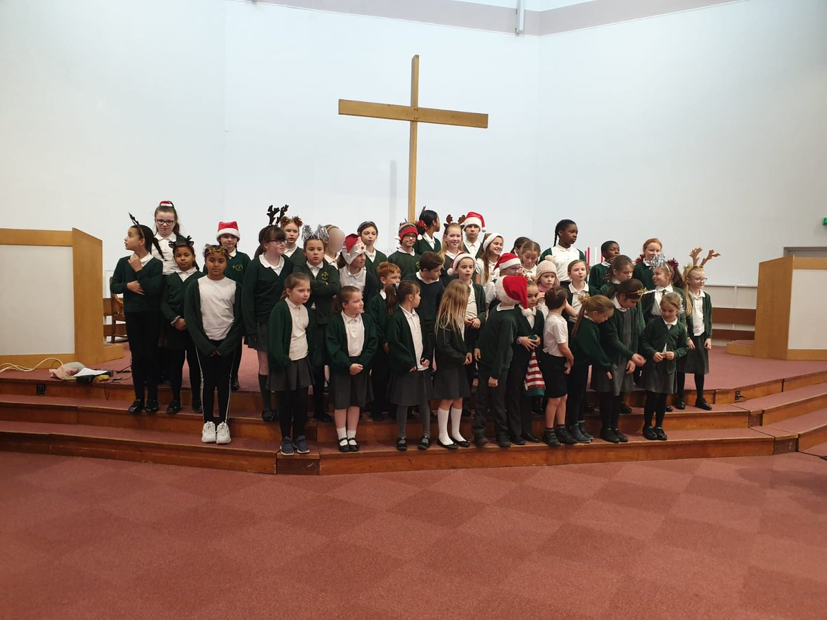 test Twitter Media - Our choir have been very busy over the last week or so. They sang at for Birmingham @Townswomen Carol Service last Wednesday & today sang at Immanuel Toddler Group's Christmas party. Our Year 6's also sang at Bramley Grove (@ZestCareHomes) last week. https://t.co/KsTnQUpspB
