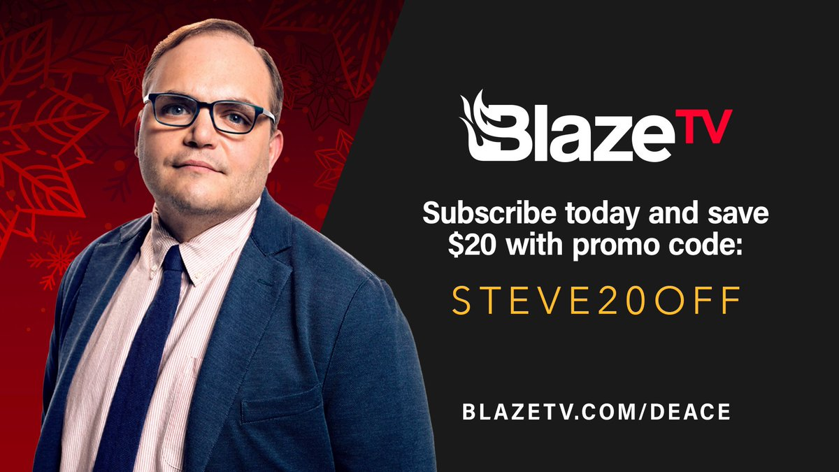 There's never been a better time to subscribe to @BlazeTV and just in time for Christmas.
