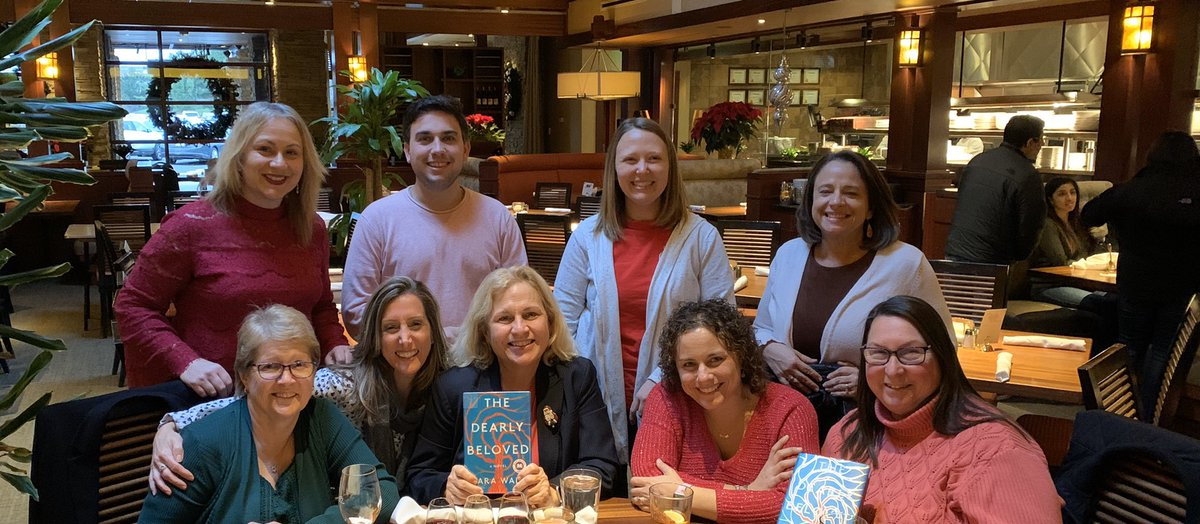 @JennaBushHager as educators we strive to be readers and collaborators. We may be a few months behind but we loved The Dearly Beloved and we promise to keep the faith! @TODAYshow