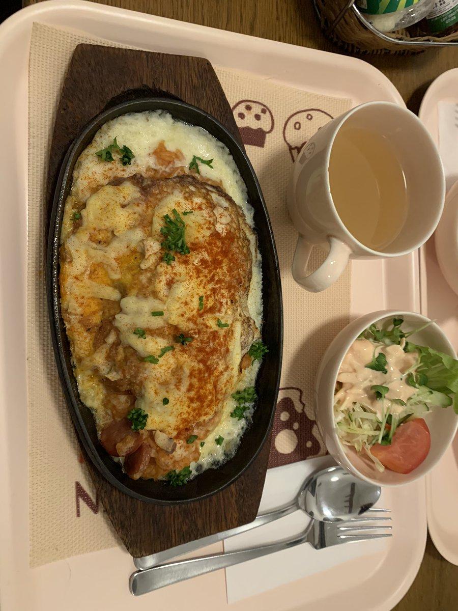 test ツイッターメディア - 夕飯はオムライスチーズ焼きとモンブランとホットの紅茶 https://t.co/UKsNWy0yPS