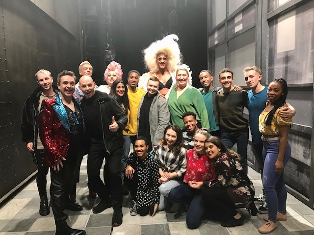 We were HONOURED to have @CherylHoleQueen and @AlyssaEdwards_1 join us last night at #JamieLondon, we hope you both had an AMAZING night!