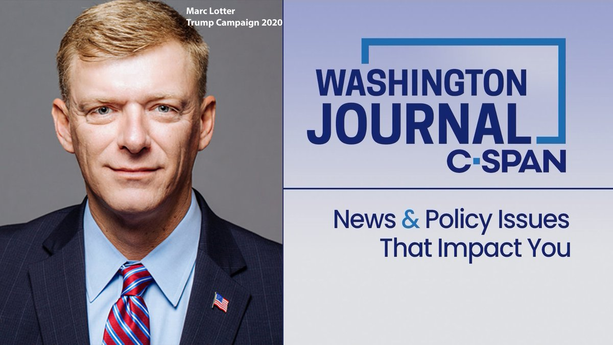 SUN  @marc_lotter, Strategic Communications Director for Pres. Trump's  2020 Campaign, discusses the campaign's re-election strategy  Watch live at 9am!