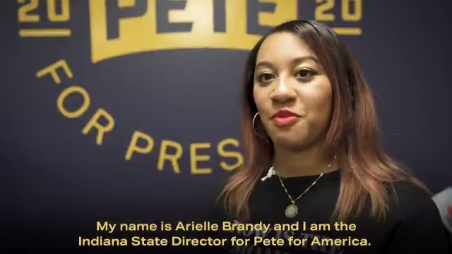 South Benders like Arielle are leading @PeteButtigieg's campaign of inclusion and belonging.