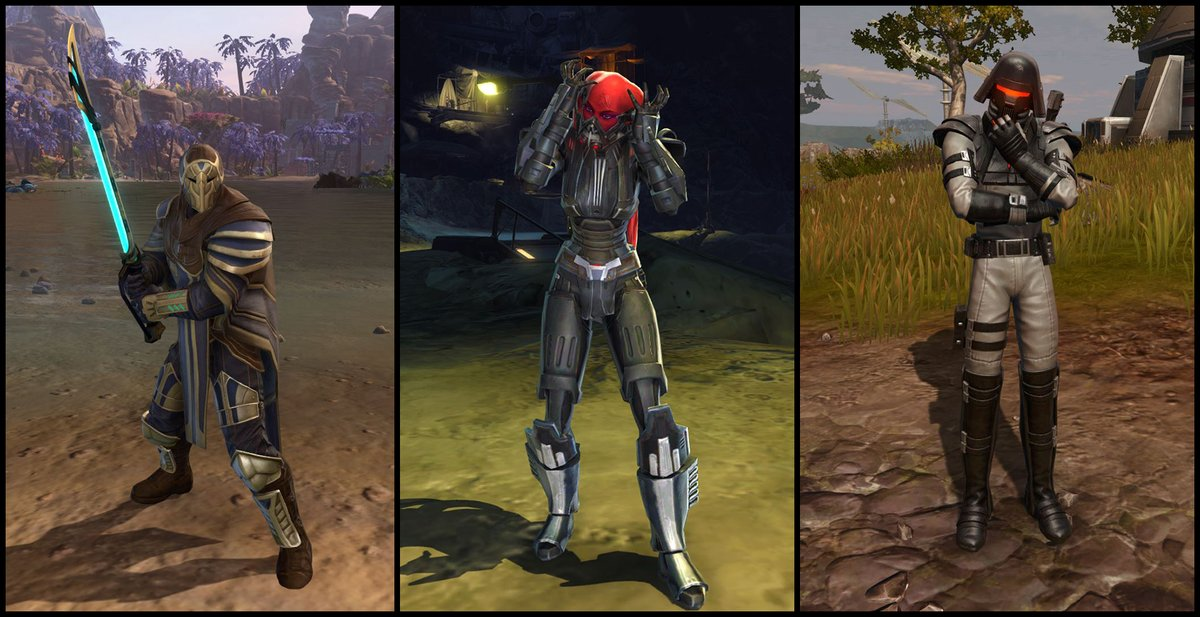test Twitter Media - The Onderon Guardian, Ruthless Oppressor, and Reconstructed Apprentice Armor Sets were all added to the Cartel Market with the latest game update. Which one is your favorite? https://t.co/xpThhFTazM