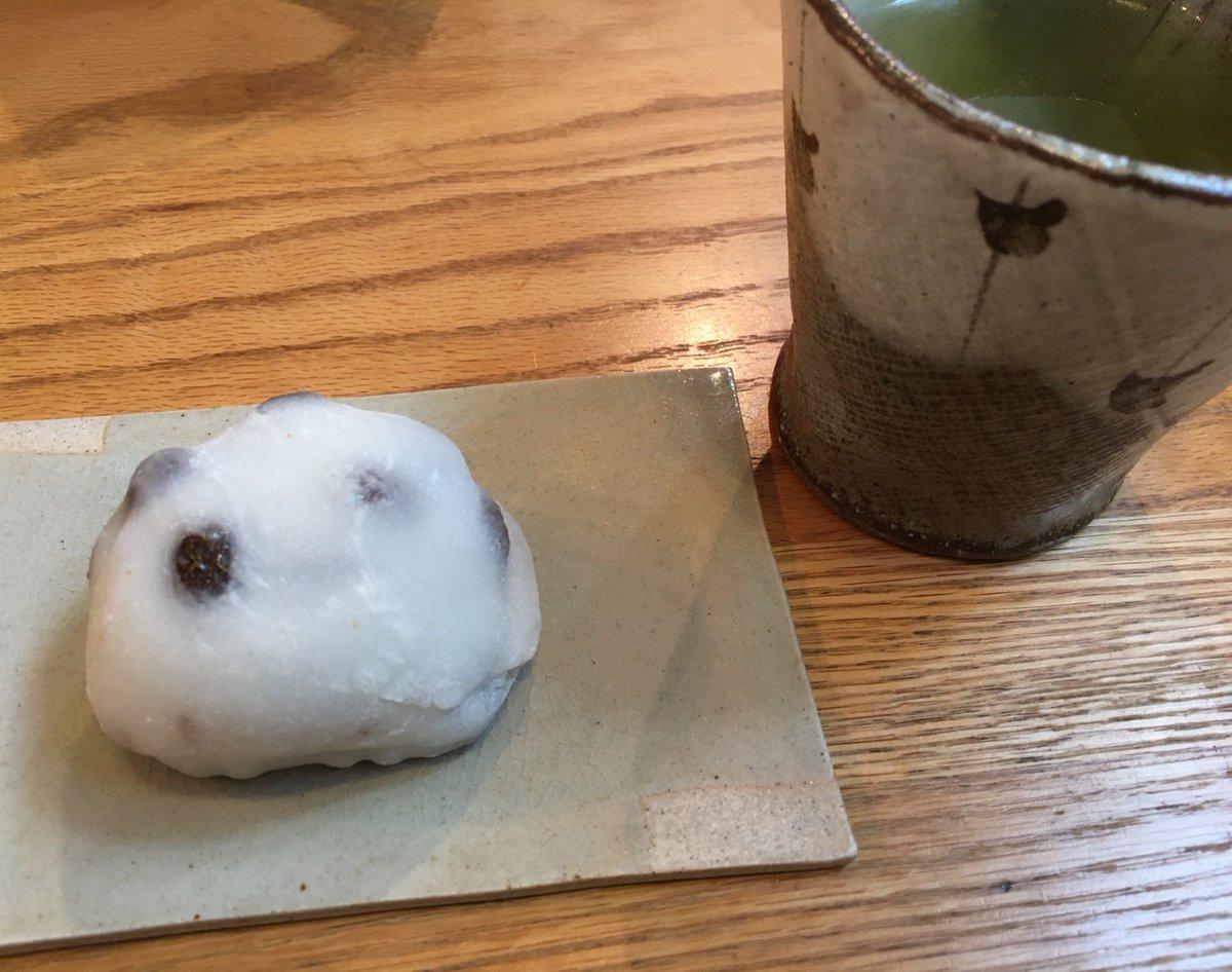 test ツイッターメディア - 職場でのいただきもの。京都、出町ふたばの豆餅。うっっっま!!! 好き!これ好き!お店はいつも行列なんだって(′・ω・`) https://t.co/LptGDMEXge