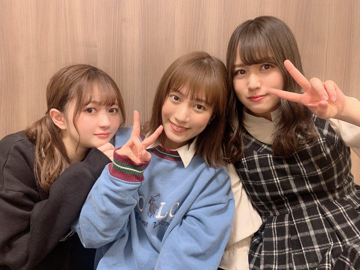 test ツイッターメディア - 「#AKB48の明日よろしく」えごちゃんとどんちゃんと3人で…!観て下さった皆さんありがとうございました😊次回月曜日はNMB48吉田朱里ちゃんに明日よろしく!トークテーマは「博多座 #仁義なき戦い」これはみんな大好き #山守夫婦 の話いっぱいかな〜☺️最後の写真が配信中に言ってた離婚届写真です…笑 https://t.co/uchSN55PBZ