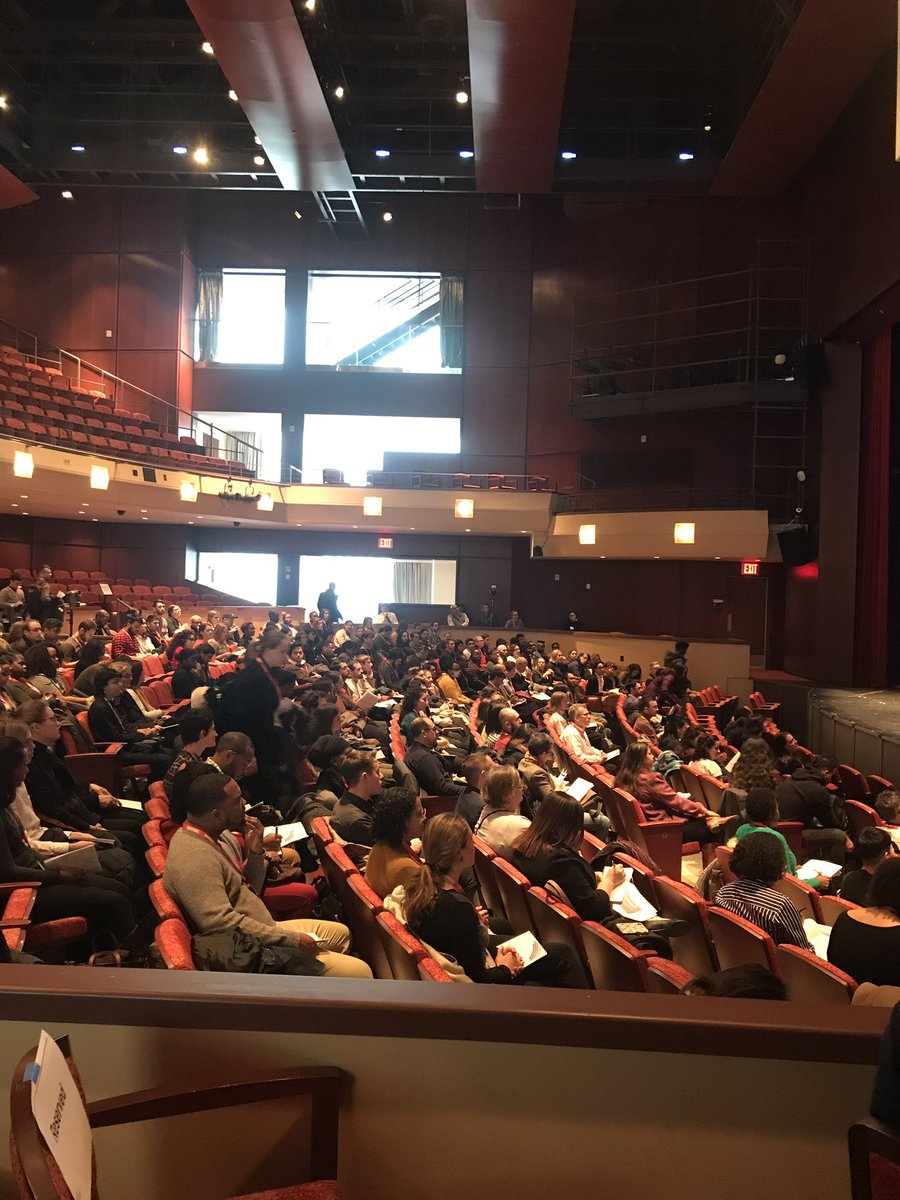 Seats are filling up! Our Keynote fireside chat is starting! #hindsight2019 #hindsight2019nyc https://t.co/ufRmpwtZO0