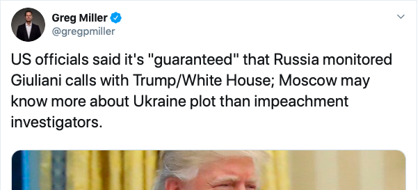 """Washington Post, a major perpetrator of the original Russia collusion hoax, is attempting to return to """"RUSSIA RUSSIA RUSSIA!"""" months after it imploded spectacularly."""