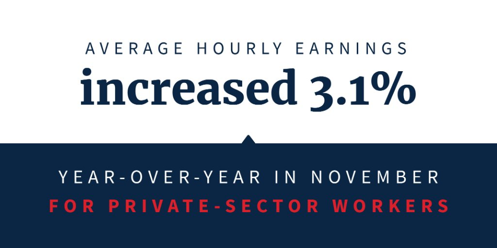 Under President @realDonaldTrump, U.S. businesses are expanding, hiring, and raising workers' wages! 💰