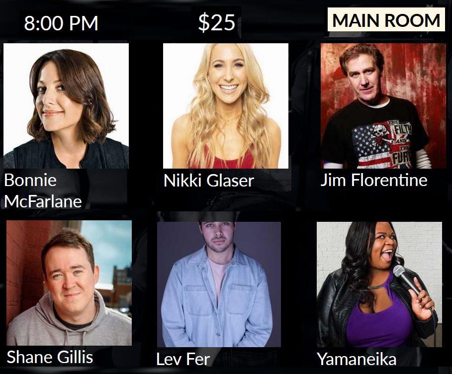 ".@BonnieMcFarlane (@HBO, @MyWifeHatesMe99), @NikkiGlaser (host of @YouUpSXM), @MrJimFlorentine (co-host of @VH1's @ThatMetalShow), @ShanemGillis (co-host of @MSSecretPod), @LevFersh & @Yamaneika (@HBO, @NBC) perform #NYCStandup 8:00 pm at @TheStandNYC: ""Stars at The Stand"" ($25)"