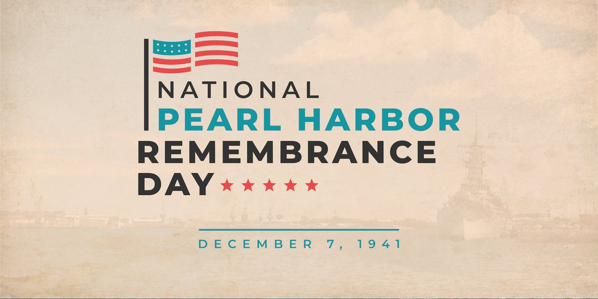 Today, we remember & honor the lives of the 2,403 brave Americans who lost their lives at Pearl Harbor 78 years ago, including the 1,177 Americans serving aboard the USS Arizona.