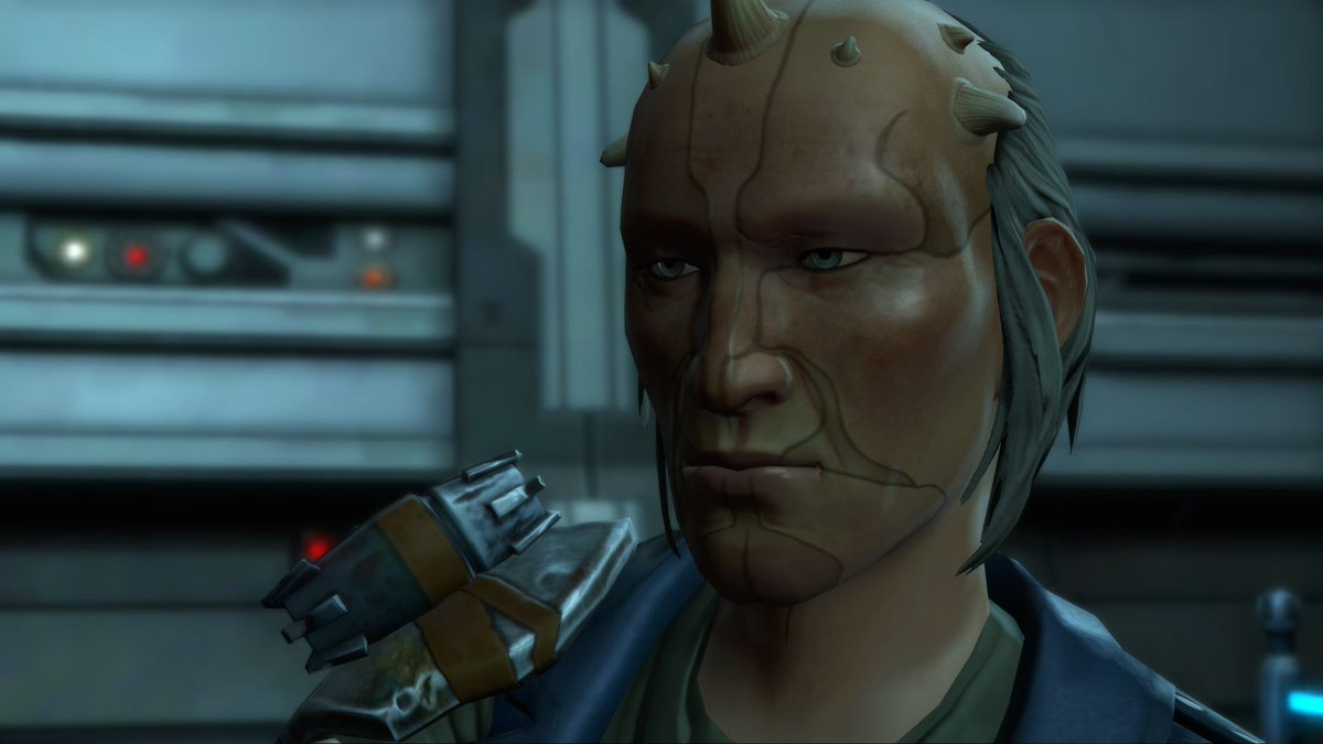 test Twitter Media - Alongside four others, Junker Jott is one of the ruling powers centered in Mek-Sha. Being a retired Republic Navy veteran, he has zero tolerance for anything involving the Sith Empire and their efforts. https://t.co/SMetO83LTB