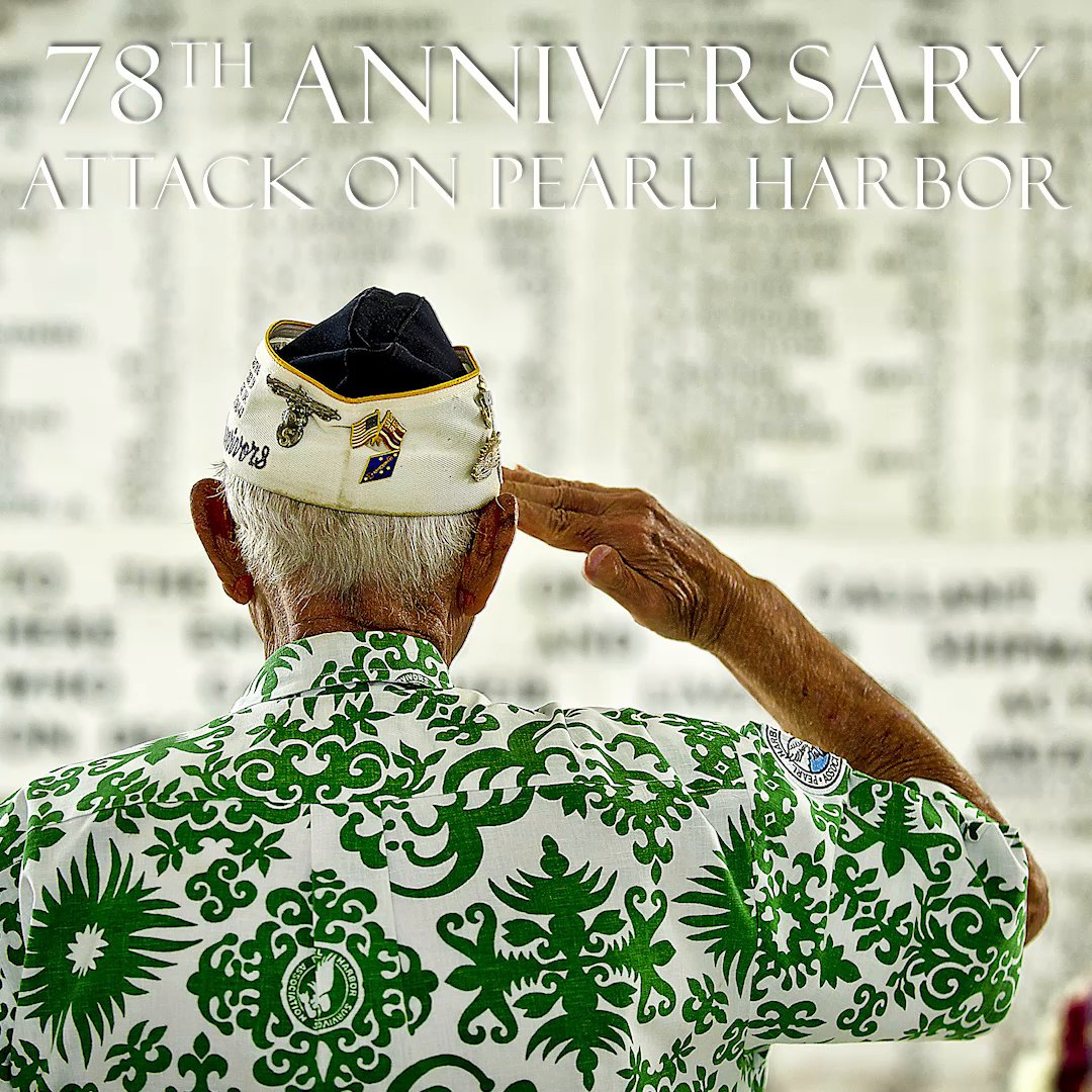 Lost, but never forgotten.  We remember and honor all those who gave the ultimate sacrifice on this #NationalPearlHarborRemembranceDay.