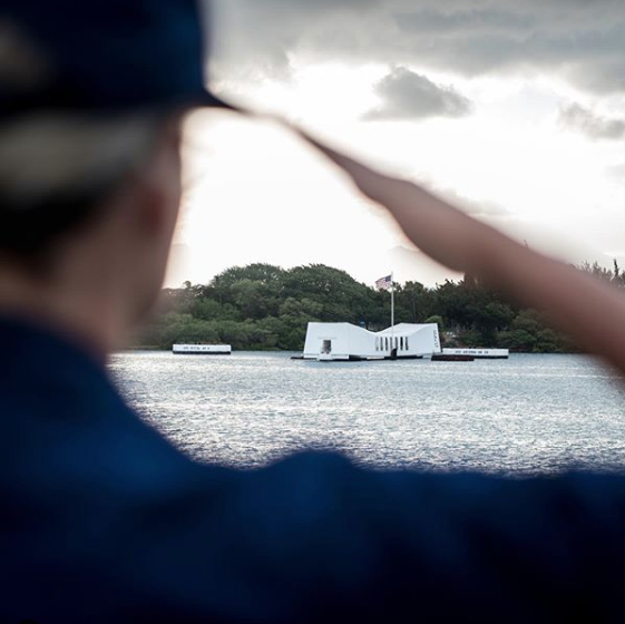We will always remember and honor those who gave the ultimate sacrifice in the attack on #PearlHarbor.