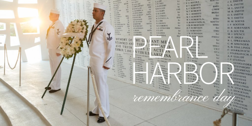 On National Pearl Harbor Remembrance Day, we solemnly reflect on the tragic events of December 7, 1941, and honor those who perished while defending our Nation.