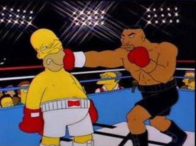 The Simpsons spot on again 😂😂#JoshuaRuiz2 #RuizJoshua2 https://t.co/g9Y4sl6o2M