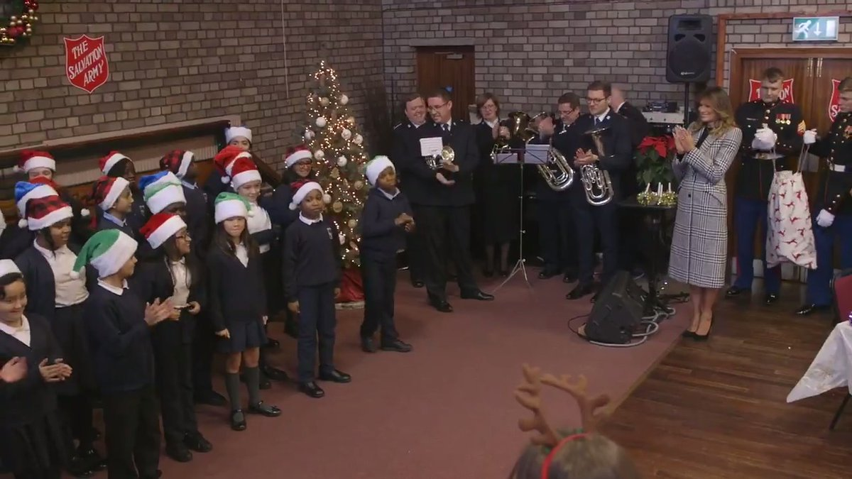 Visited The Salvation Army Clapton Center in London on Wednesday. Thank you to the 5th graders for the warm welcome. The holiday spirit is within each one of you and I was delighted to see you bring the joy of Christmas to those less fortunate.