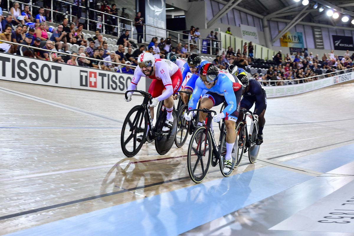 test Twitter Media - Back at it for the third and final day of the 🇳🇿 #TissotUCITrackWC 👊  Head to @flobikes to watch the Keirin (W), Sprint (M) & Omnium (W) events featuring some of 🍁s rising stars! https://t.co/2KxFm4dktV