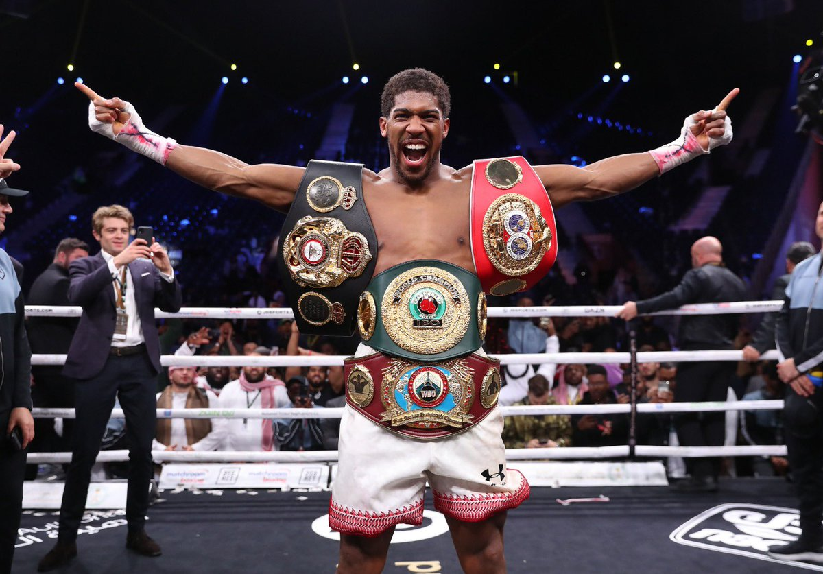 test Twitter Media - So relieved and pleased to see our Nigerian pride Anthony Joshua regain his title as World Heavyweight champion, defeating Ruiz. Loved his gratitude to God first, after the victory. Boy  was I stressed …. https://t.co/8pcrgVxiAx