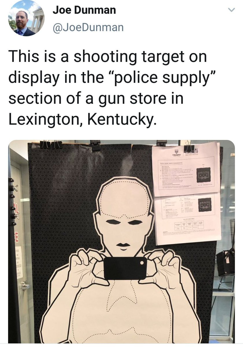 Reason 6M+ Why the Left is not capable of dealing with gun issues & we cannot trust them anywhere near the #2A   Failing to grasp the concept of a no shoot target  What happens when you hate the cops so much your brain breaks