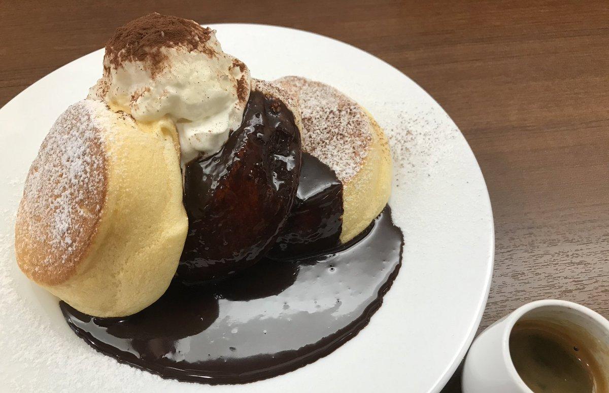 test ツイッターメディア - 幸せのパンケーキ 美味しかった(。-∀-) https://t.co/iUst4cqnoj