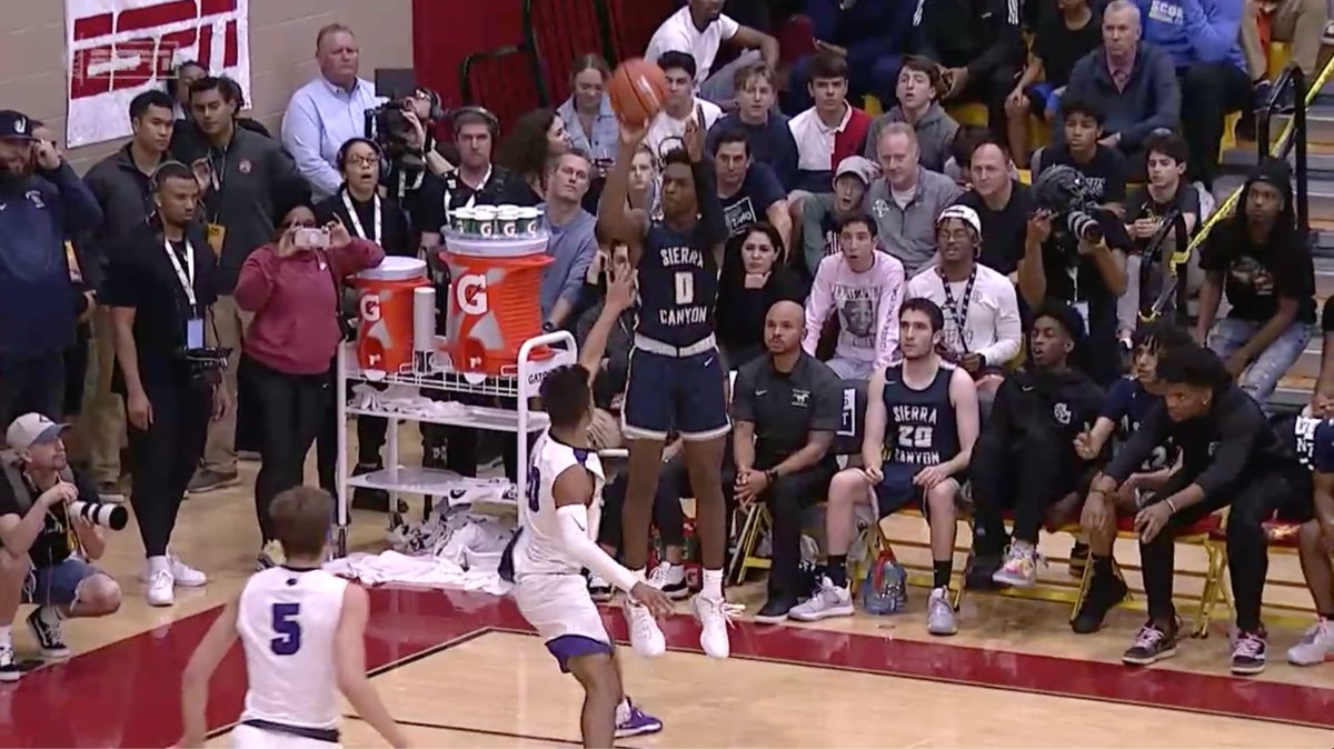 """""""I hope LeBron is not going to get mad at me, but I think Bronny's jump shot is a little bit better ...""""  —@PaulBiancardi with high praise about Bronny Jr.'s jumper"""