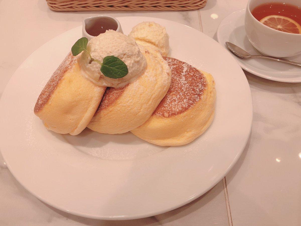 test ツイッターメディア - 幸せのパンケーキ 梅田 阪急東通り店  幸せのパンケーキ バニラアイス追加 ホットレモンティー🍋  うま°・  #パンケーキ #ホットケーキ #カフェ #アフタヌーンティー #遮二無二xxx https://t.co/rqIDVz1CpP