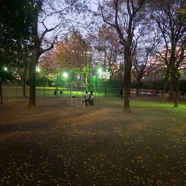 test ツイッターメディア - 映画『楽園』のロケ地のひとつ。新宿区立西戸山公園。杉咲花と村上虹郎が語らう場面。うんていとバスケットボールのゴールが見える。高田馬場、新大久保間の線路近く。新宿が近いと言えば近い。 https://t.co/bds8KP1qpn https://t.co/i6Wt4aqzrc