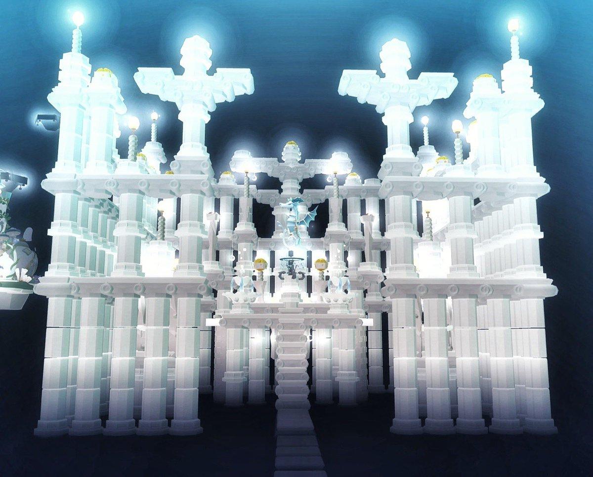 test ツイッターメディア - ギリシャ風神殿🏛移築完了ヽ(*´ ω `*)ノ   #taptapfish #abyssrium  #アビスリウム https://t.co/JAMllD5QhU