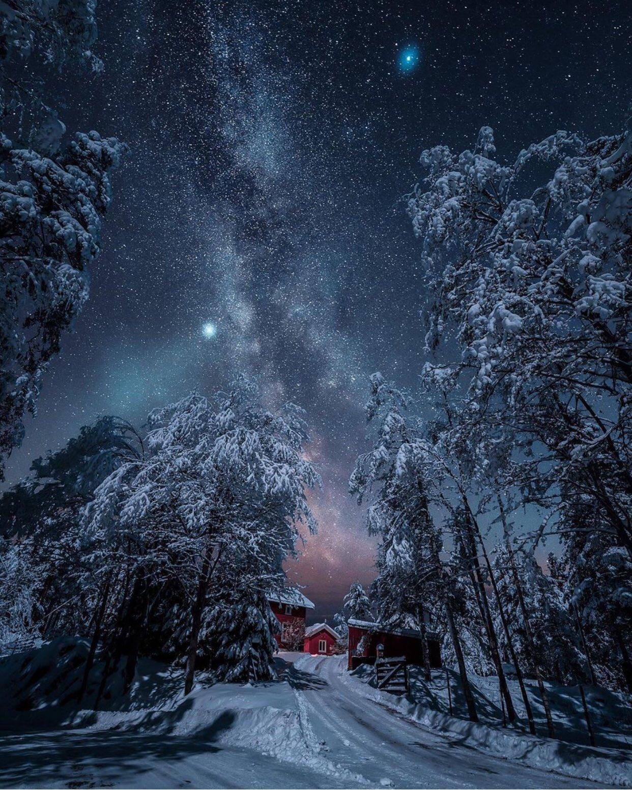 Good night   Kongsberg Norway  By Sondre Eriksen https://t.co/70rq3pVeEc
