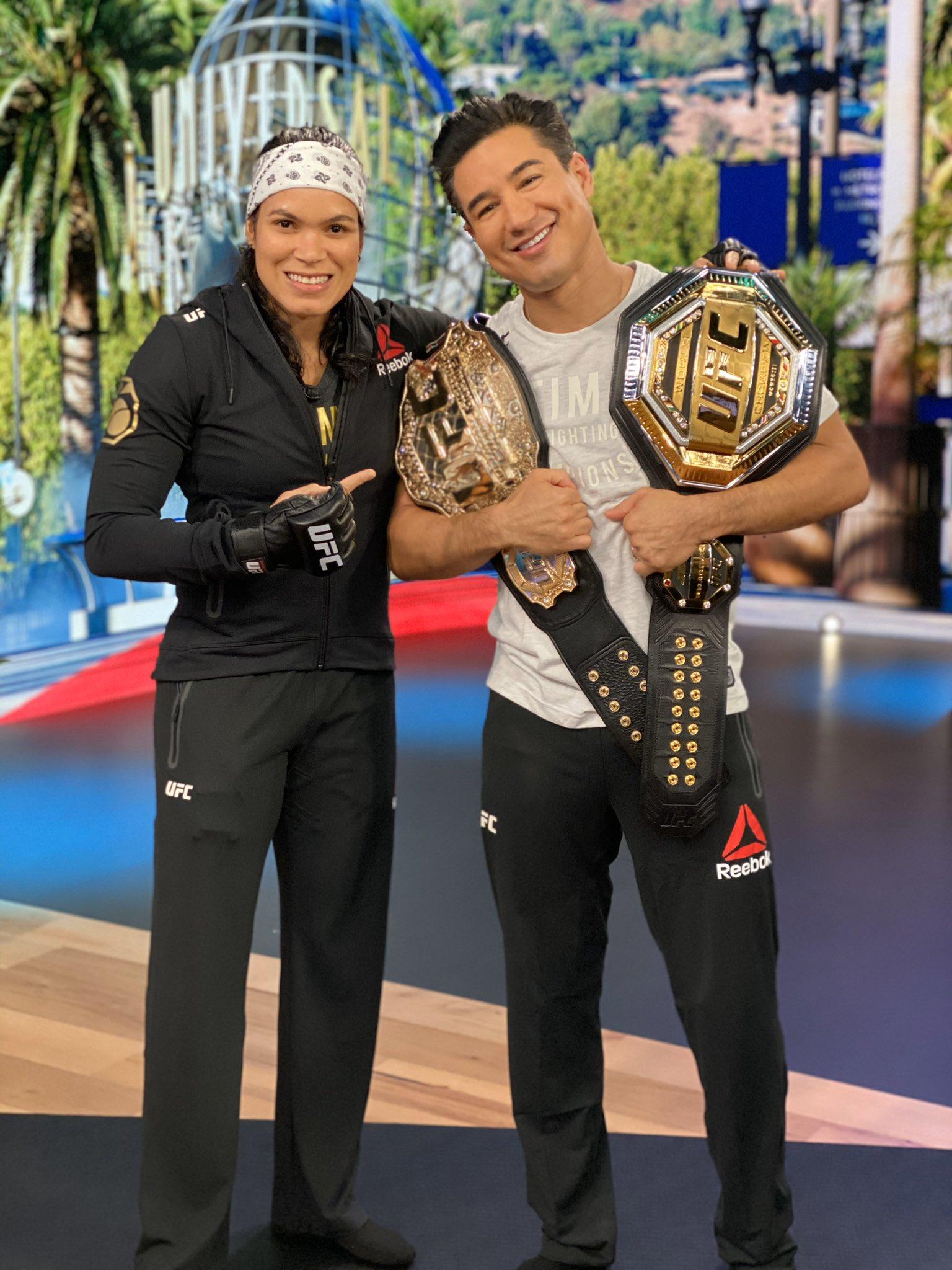 Baddest woman on the planet. And a total sweetheart... @UFC   #AmandaNunes  #WorldChampion  #UFC  #ChokeMeOut https://t.co/3EywXiThaK