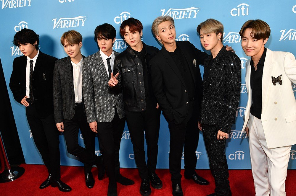 .@BTS_twt announced that they were in the process of creating new music and an album will be out soon at Variety's Hitmakers brunch at the Soho House in WEHO on Dec. 7. In their acceptance speech for @Variety's group of the year, RM expressed gratitude for their fans.  #BTSARMY https://t.co/pDWnK0y5a3