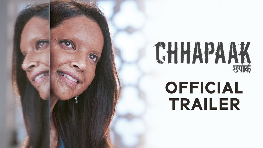 #ChhapaakTrailer superb one & loved it @deepikapadukone hats off      congrats and best wishes to the whole team & @foxstarhindi