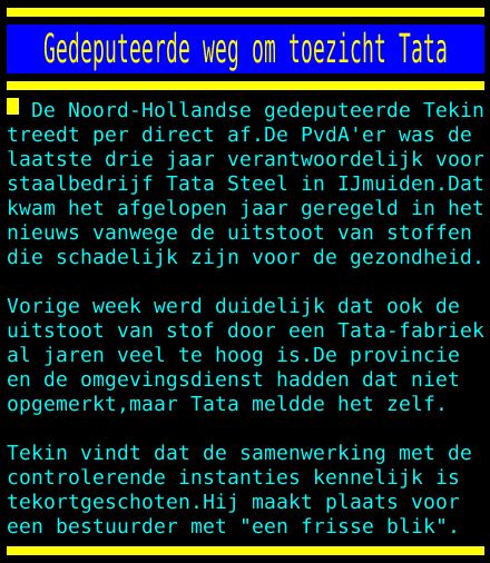 test Twitter Media - Gedeputeerde weg om toezicht Tata https://t.co/kDnHA2GODy