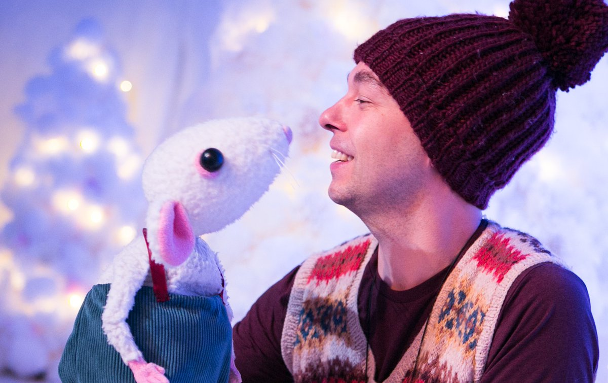 #Spark2020 brings you... Snow Mouse! Come and join Snow Mouse and his new friend on their adventures in a magical forest full of play, puppetry and music @AttenboroughAC   Find out more and book your tickets: https://t.co/cxEFqL1gNN