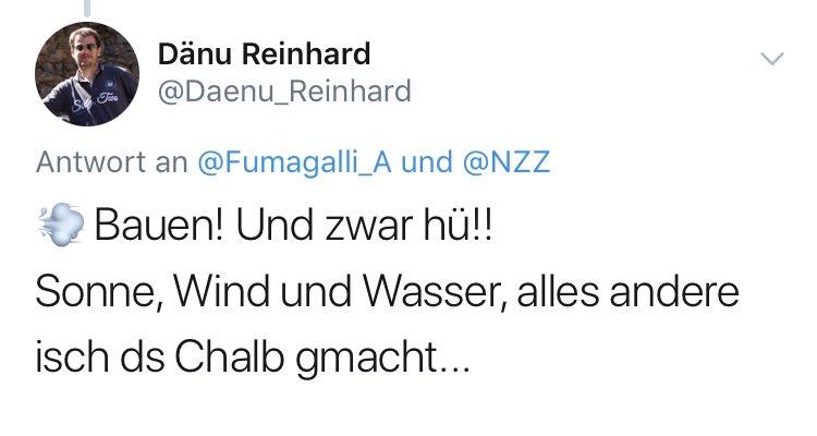 test Twitter Media - @NZZSchweiz @NZZ Der gleiche Kommentar wie zum Ausbau von Windkraft: https://t.co/fJtMhayNMY