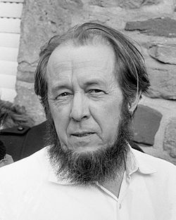 11 Dec 1918: #Russian writer and critic of the #Soviet Union and #communism Aleksandr #Solzhenitsyn is born in #Kislovodsk, #Russia. He died in #Moscow in 2008. #history #Russia #USSR #HistoryMatters #OTD #author https://t.co/qTXKbOx6MT