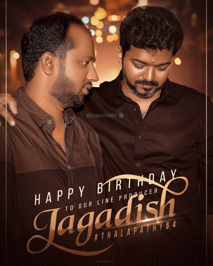 Many many more happy returns of the day @Jagadishbliss darling😊😊 wish u all success ahead👌