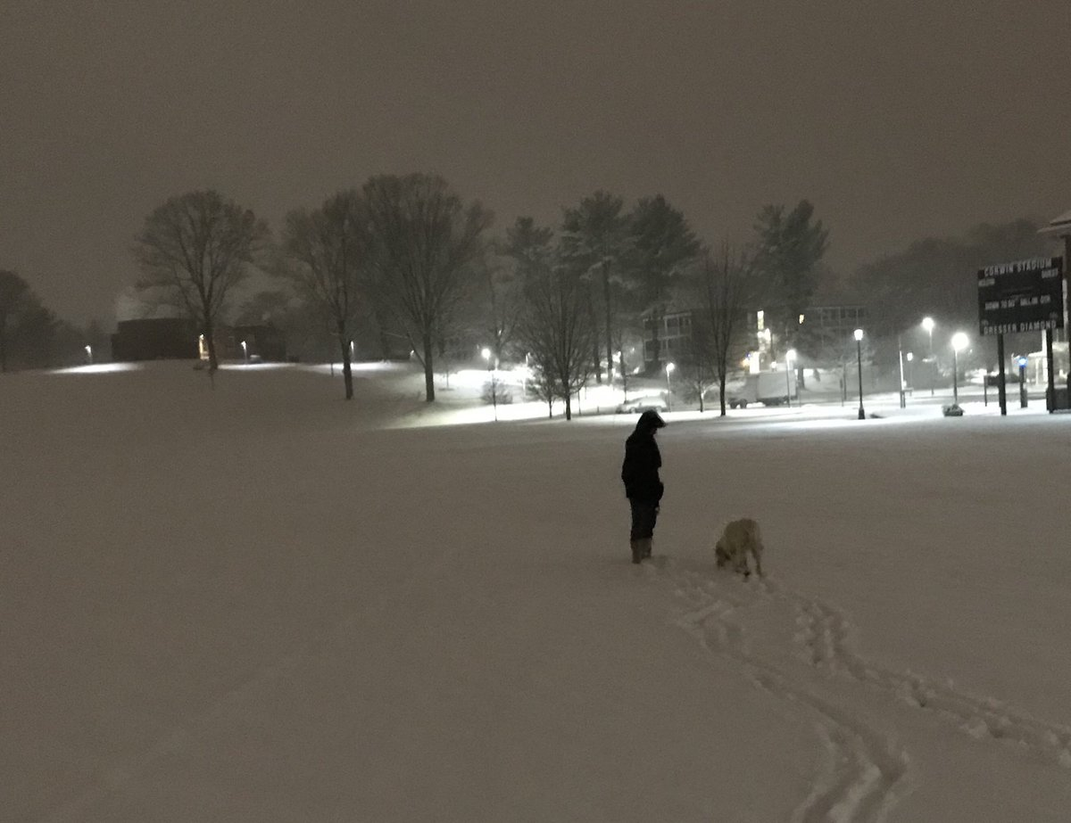 test Twitter Media - Morning brings fresh blanket of snow as finals are underway ⁦@wesleyan_u⁩ https://t.co/gfNO2iGB8z