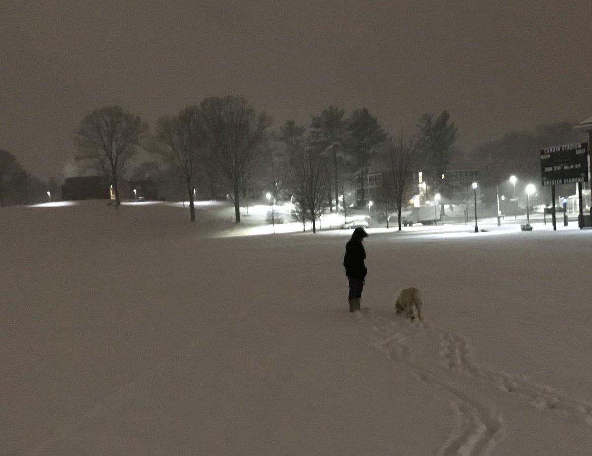 test Twitter Media - Morning brings fresh blanket of snow as finals are underway @wesleyan_u https://t.co/gfNO2iGB8z