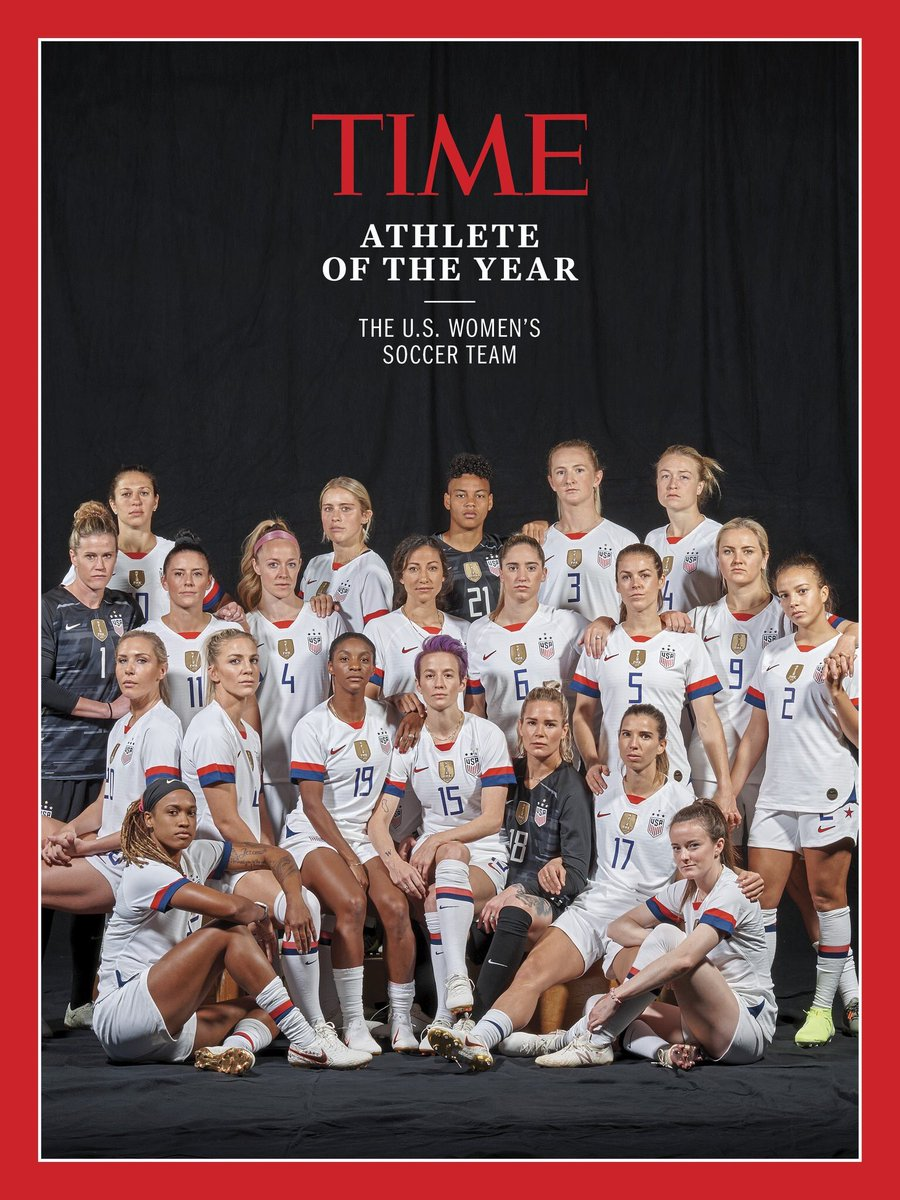test Twitter Media - Show 'em some respect. ✊  2019 @TIME Athletes of the Year. https://t.co/vRvRaGZlYO