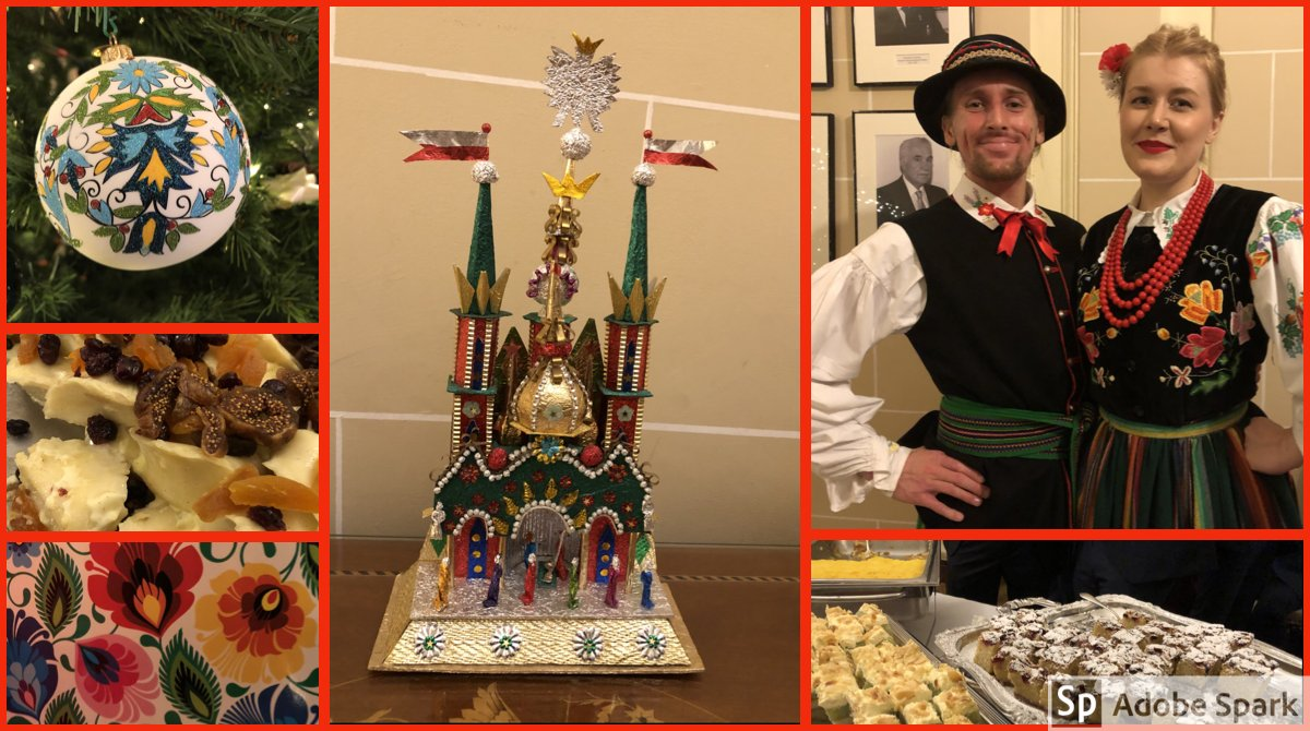 test Twitter Media - A treat to join @ArkadyRzegocki & Jolanta at @PolishEmbassyUK for a traditional Polish Xmas, with treats courtesy of UK National Chef of the Year @Chef_Kuba & Embassy Chef Tomasz Duda, carol singing from #MazuryDanceCompany, & a Polish bauble (bombka) for the tree - Dziękuję! https://t.co/n0r9eT0G1s