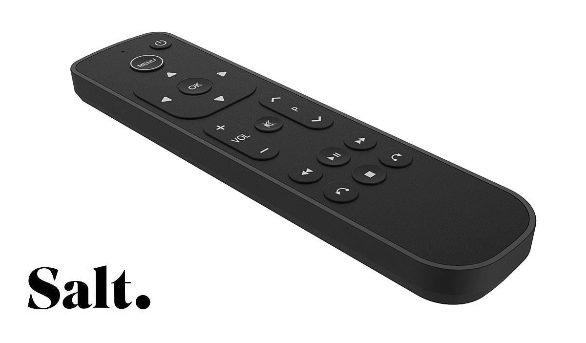 test Twitter Media - Swiss Fiber TV Service 'Salt' Launches Alternative Apple TV 4K Remote Control for Frustrated Customers https://t.co/XfvKV3MYaH https://t.co/NMNwfaBmJ2